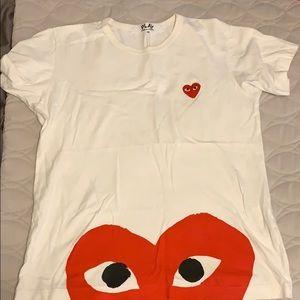 Comme des Garcons play shite T-shirt size M